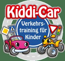 Kiddi-Car Logo mit Kreisverkehr