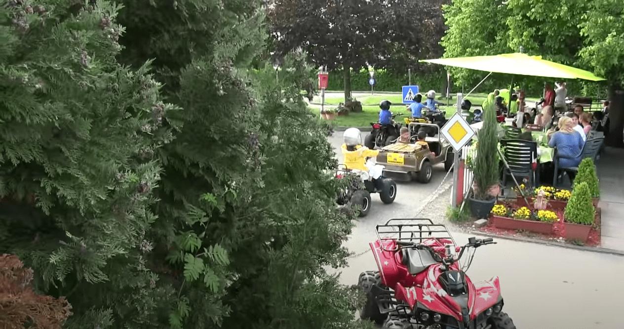 Video vom Verkehrsübungsplatz Fürstenfeldbruck