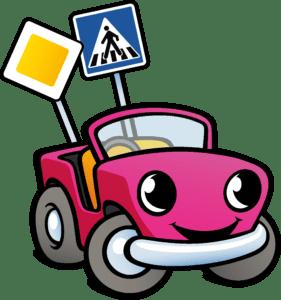 Kiddi-Car Logo Auto Carly