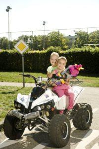 Schulanfang bei Kiddi-Car am ersten Schultag