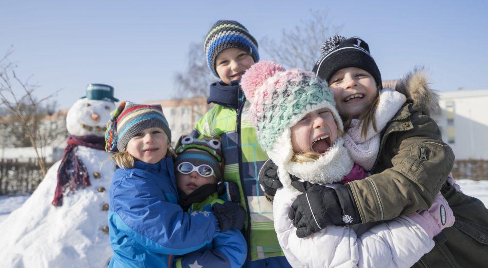 Kindergeburtstag im Winter